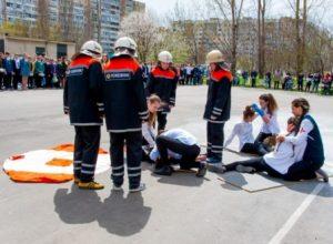 Одеські школярі продовжують навчатися діям у надзвичайних ситуаціях