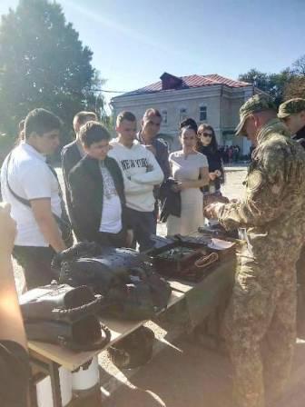 У закладах освіти Одеси пройшли заходи до Дня захисника України