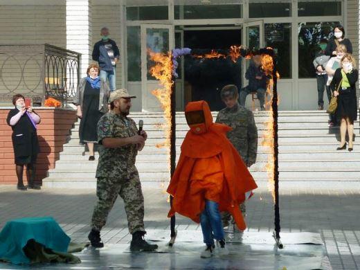 В Одеській СШ №86 пройшов семінар-практикум з питань цивільного захисту