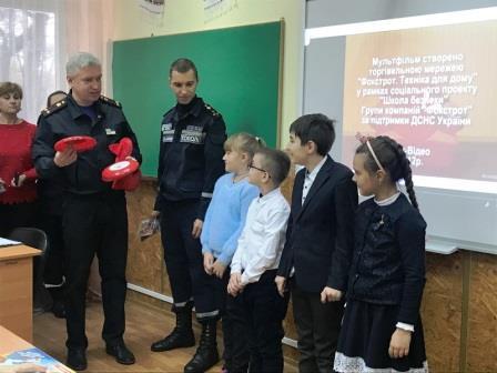 Для одеських школярів провели «Національний урок безпеки»