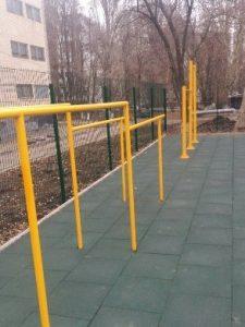 Відкриття спортивного стадіону ОСШ № 17