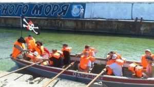 Вихованці Одеської міської дитячої флотилії моряків «Бриг»закінчили літню плавпрактику