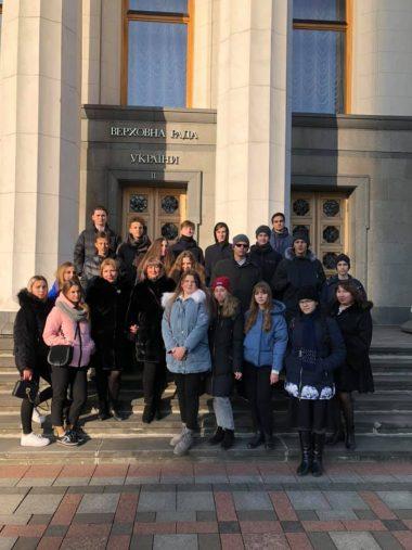 Одеські школярі - учасники Міжнародного екологічного проєкту