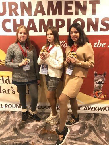 Юні одеситки перемогли на міжнародній олімпіаді World Scholar's Cup