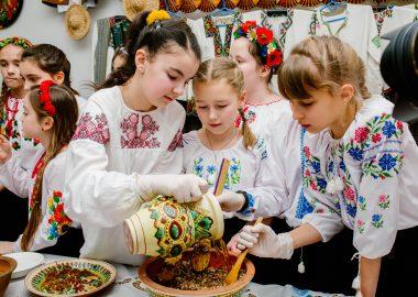 Майстер-клас із приготування святкової куті до свята Водохреща