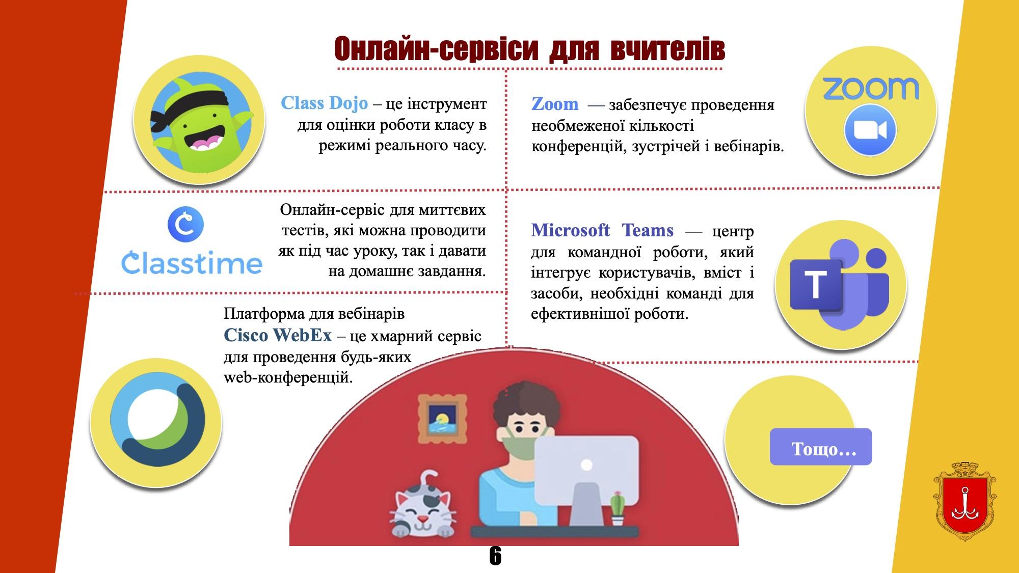 Організація дистанційного навчання