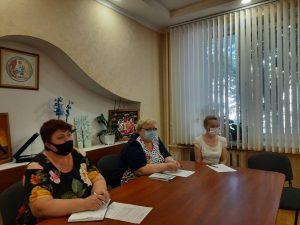 Позачергове засідання колегії департаменту