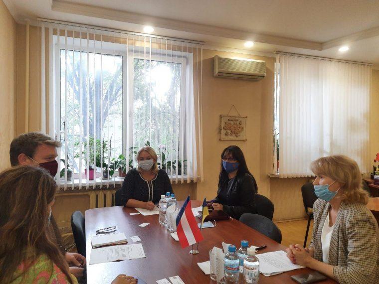 Зустріч з представниками проєктного бюро OеAD в Україні