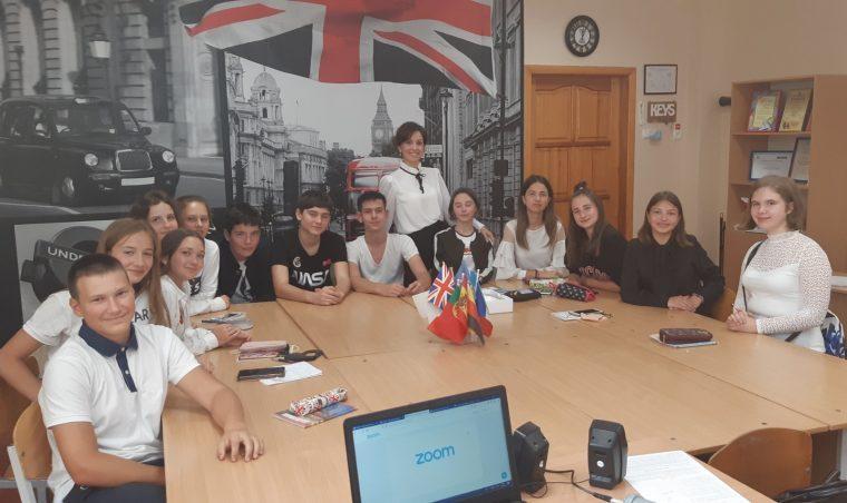 Одеські учні спілкуються на Міжнародній арені