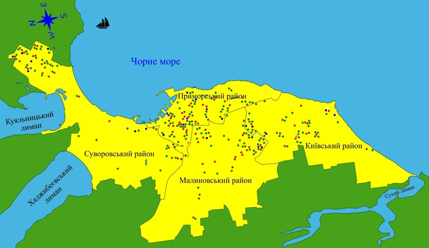 Інтерактивна карта матеріально-технічної бази закладів освіти