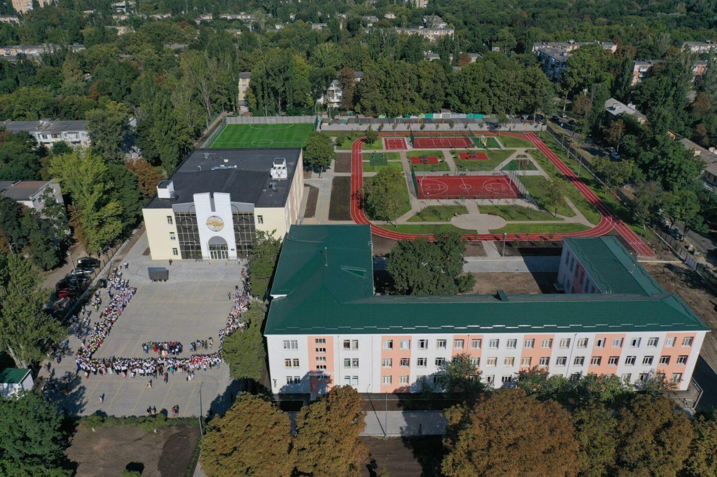 Мер Одеси відкрив Палац дитячої та юнацької творчості «БІЛА АКАЦІЯ»